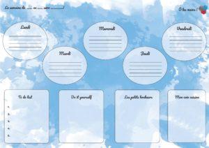 planner horizontal