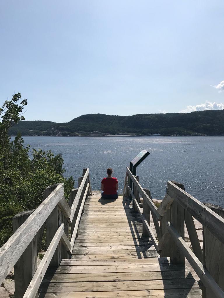 balade sentier de la Pointe-de-L'Islet Tadoussac
